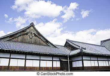 Nijo Castle, Kyoto, Japan - Nijo Castle was built in 1603 as...