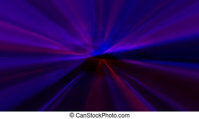Overlapping Light Sweeps - Overlapping red and blue lights...