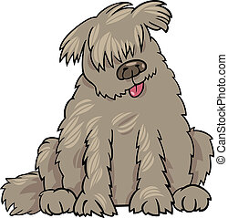 newfoundland dog cartoon illustration - Cartoon Illustration...