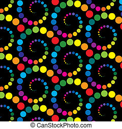 Abstract retro background Vector illustration - Abstract...