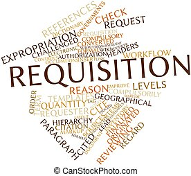 Word cloud for Requisition - Abstract word cloud for...
