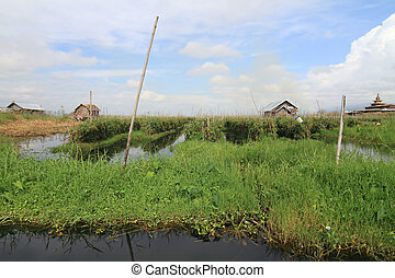 Inle Lake is a freshwater lake located in the Shan Hills in Myanmar (Burma).