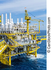 Offshore platfrom - Offshore platform in the south of...