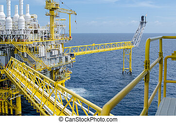 Offshore platform - The offshore platform in the south of...