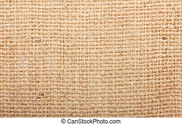Natural linen striped textured sacking burlap background