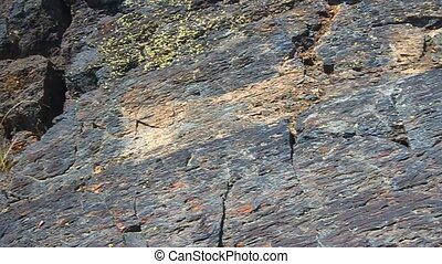 Volcanic Rock in Idaho - Volcanic rock formations cover the...