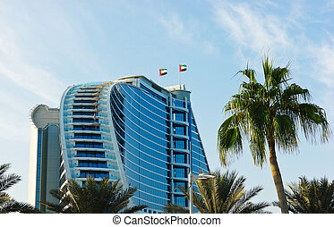 Jumeirah Beach Hotel. DUBAI, UAE - DUBAI, UAE-NOVEMBER 15:...