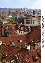 red roofs of old Prague