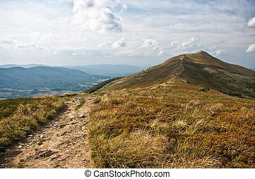 Bieszczady mountains - Landscape in the Bieszczady mountains