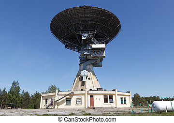 radio telescope - Former super-secret Soviet Army space...