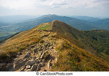 Bieszczady mountains - Landscape in the Bieszczady mountains