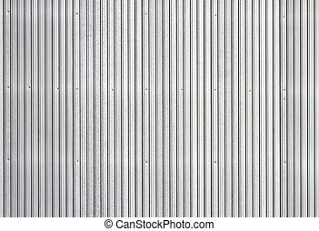 Corrugated metal siding - Corrugated metal texture surface