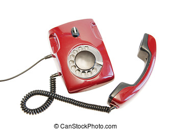 Olden red phone