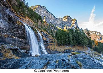 Cascade du Rouget, France - The waterfall, Cascade du Rouget...