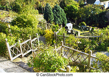 Hanging Gardens in Culross Scotland - Vie from Hanging...