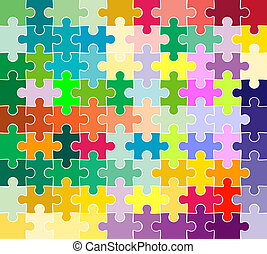パターン, 困惑, ジグソーパズル