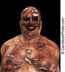 Fat Zombie - Very fat and horrible looking Zombie for...