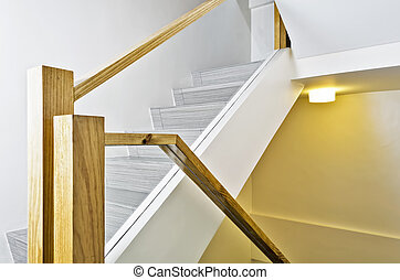Apartment Stairs - New stairs in a brand new apartment