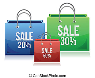 shopping bags with discounts