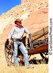 cow boy spirit - SOUTh WEST - A cowboy takes time to rest...