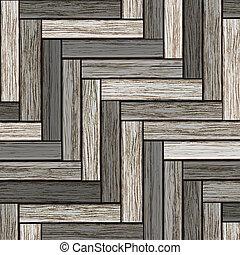 Background of wooden grey parquet