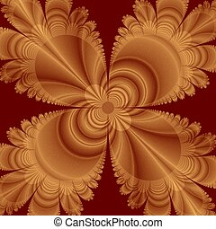Awesome fractal background