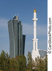 Competition: Skyscraper vs. Minaret - Skyscraper vs. Minaret...