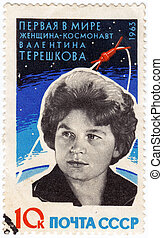 USSR - CIRCA 1963 :stamp printed in the USSR ( now is Russia...