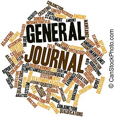 Word cloud for General journal - Abstract word cloud for...