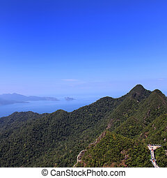 Mount Mat Chencang, Langkawi - A breathtaking view from...