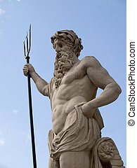 Neptune Poseidon - The anciest statue of Neptune Poseidon...