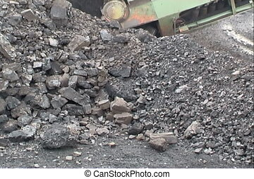 Coal mining - Extraction of coal digger