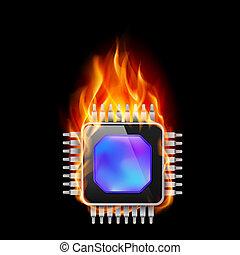 Burning Processor