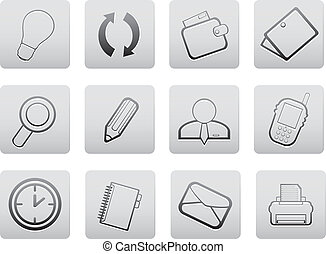 Web icons  - Web icons. Vector set for you design