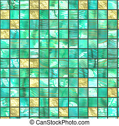 ceramic background - green ceramic background