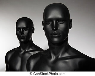 mannequin on stuido background