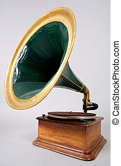 gramophone - retro vinyl player