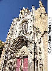 cathedral Saint-Sauveur dAix in Aix-en-Provence, a Roman...