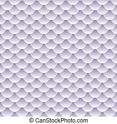 Seamless textured fish scale pattern - Seamless pattern of...