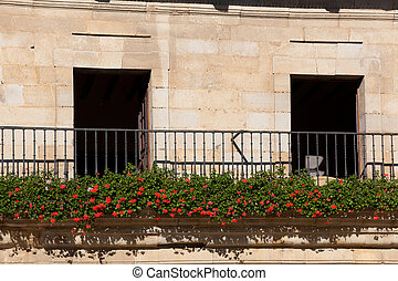 Balcony of Santillana del mar, Cantabria, Spain