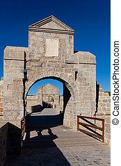 Walls of Pamplona, Navarra, Spain