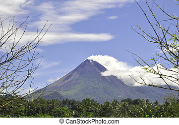 Active Volcano in Java - Indonesia - The most active...