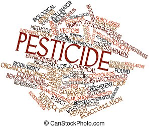 Word cloud for Pesticide - Abstract word cloud for Pesticide...