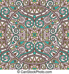 ornamental-pattern - seamless vector  ornamental patern