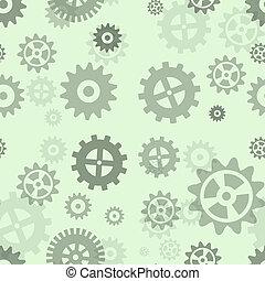 Gears pattern.