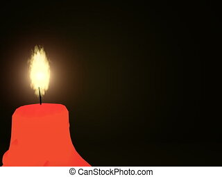 Candle - 3D
