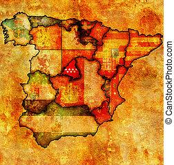 région, communauté, Madrid