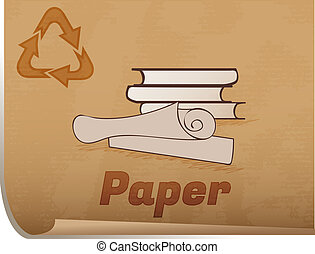 Recycling paper memo