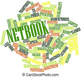 Netbook - Abstract word cloud for Netbook with related tags...
