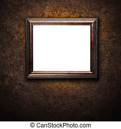 Old Antique Frame on Wall
